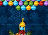 Игра Бабл Шутер Рождество