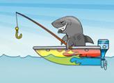 Игра Акула Рыбак