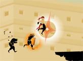 Игра Беги Ниндзя Беги - Неожиданная Дорога
