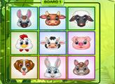 Игра Доска с животными