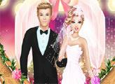 Игра Супер Барби выходит замуж