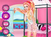 Игра Супер Барби - день лени