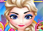 Игра Холодное сердце: принцесса в салоне