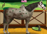 Игра Эльза и ее лошадь