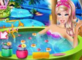 Игра Супер Барби в салоне красоты