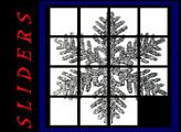 Игра Пятнашки Снежинка