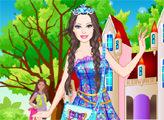 Игра Барби - очаровательная школьная принцесса