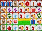 Игра Маджонг Коннект: Новогодние подарки