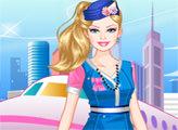 Игра Стюардесса Барби
