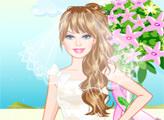 Игра У Барби свадьба на берегу моря