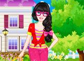 Игра Барби - стильная девушка
