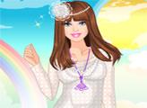 Игра Барби и кружевные наряды