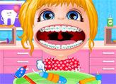 Игра Малышка Барби с брекетами