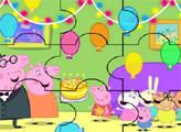 Игра День Рождения Пеппы - пазл