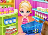 Игра Малышка Барби и торт Сюрприз