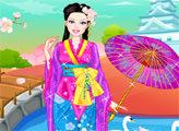 Игра Барби - японская принцесса