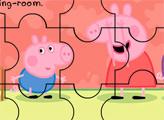Игра Свинка Пеппа играет в прятки - пазл