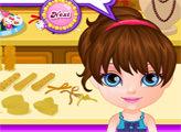 Игра Малышка Барби: ожерелье из бисера