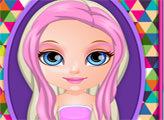 Игра Сумасшедшие прически Малышки Барби