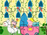 Игра Свинка Пеппа принцесса - пазл