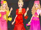 Игра Барби собирается на модную вечеринку