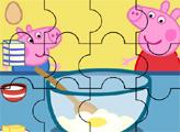 Игра Пеппа готовит с Джорджем - пазл