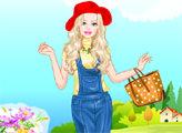 Игра Весенний стиль Барби