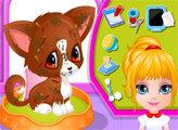 Игра Малышка Барби: Лечение питомцев