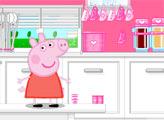 Игра Декор кухни Свинки Пеппы