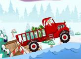 Игра Санта доставляет подарки