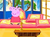 Игра Свинка Пеппа - декор комнаты