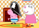 Игра Домик-гриб свинки Пеппы