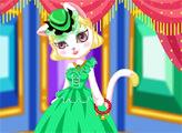 Игра Мисс Кошка - яркая принцесса