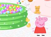 Игра Игровая комната свинки Пеппы