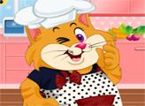 Игра Котенок на кухне