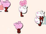 Игра Свинка Пеппа - алфавит