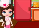 Игра Пицца от Малышки Барби