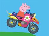 Игра Мото-экстрим Свинки Пеппы