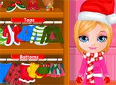 Игра Малышка Барби и Новый год