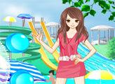 Игра В аквапарке с Эми