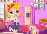 Игра Малышка Барби: Декор комнаты