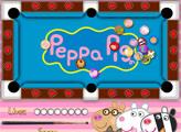 Игра Пеппа играет в пул