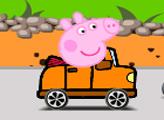 Игра Сумасшедшая езда свинки Пеппы