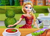 Игра Диснеевские принцессы и Гриль-вечеринка