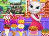 Игра Говорящая Анджела и бутик сладостей