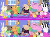 Игра Свинка Пеппа 35 отличий