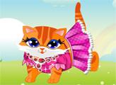 Игра Симпатичная кошка наряжается