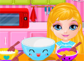 Игра Малышка Барби: Идеальный завтрак