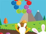 Игра Пузыри с пасхальным кроликом