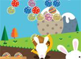 Игра Пасхальные яйца и кролик